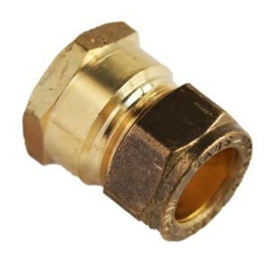 COMPRESSION STR COUPLER CXFI 15MM X 1/2""