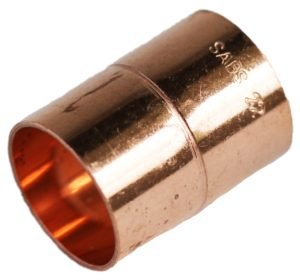 COPPER CAPILLARY 22MM STRAIGHT COUPLER