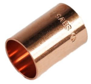 COPPER CAPILLARY 15MM SLIP  COUPLER